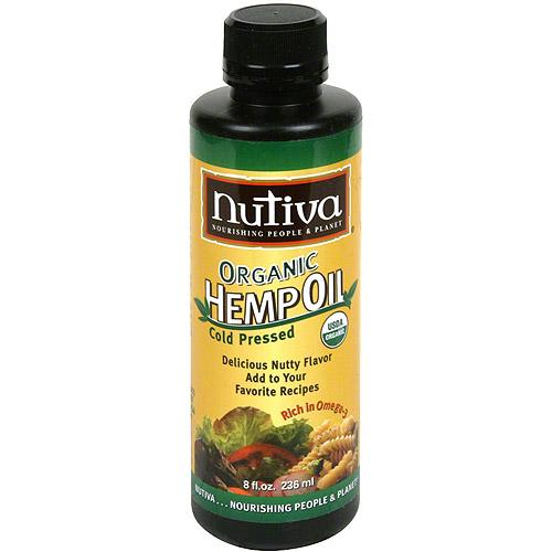 Nutiva Organic Hemp Oil, 8 fl oz