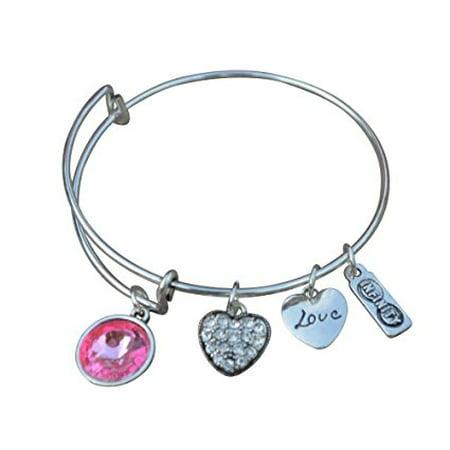BraceletnbspBirthstone JewelrynbspOctober Birthstone JewelrynbspBirthstone Bangle Bracelet PerfectnbspBirthday Gifts For Women