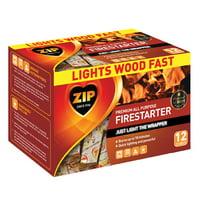 Zip Premium Firestarter Sticks, 12-Count