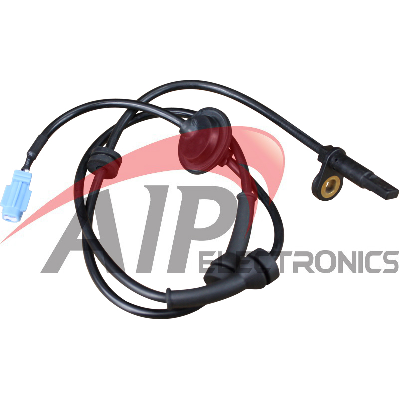 AIP Electronics ABS Anti-Lock Brake Wheel Speed Sensor Compatible Replacement For BMW Front Right Passenger Oem Fit ABS06