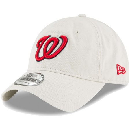 Washington Nationals New Era Core Classic Twill 9TWENTY Adjustable Hat - Tan - OSFA (Washington Nationals Green Hat)