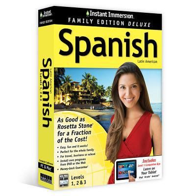 Instant Immersion Spanish  Level 1  2   3  Family Edition