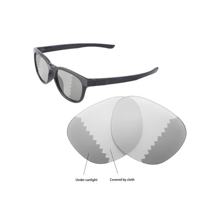 Walleva Transition/Photochromic Polarized Replacement Lenses for Oakley Stringer