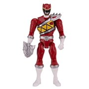 """power rangers dino charge - 6.5"""" double strike red ranger action figure"""
