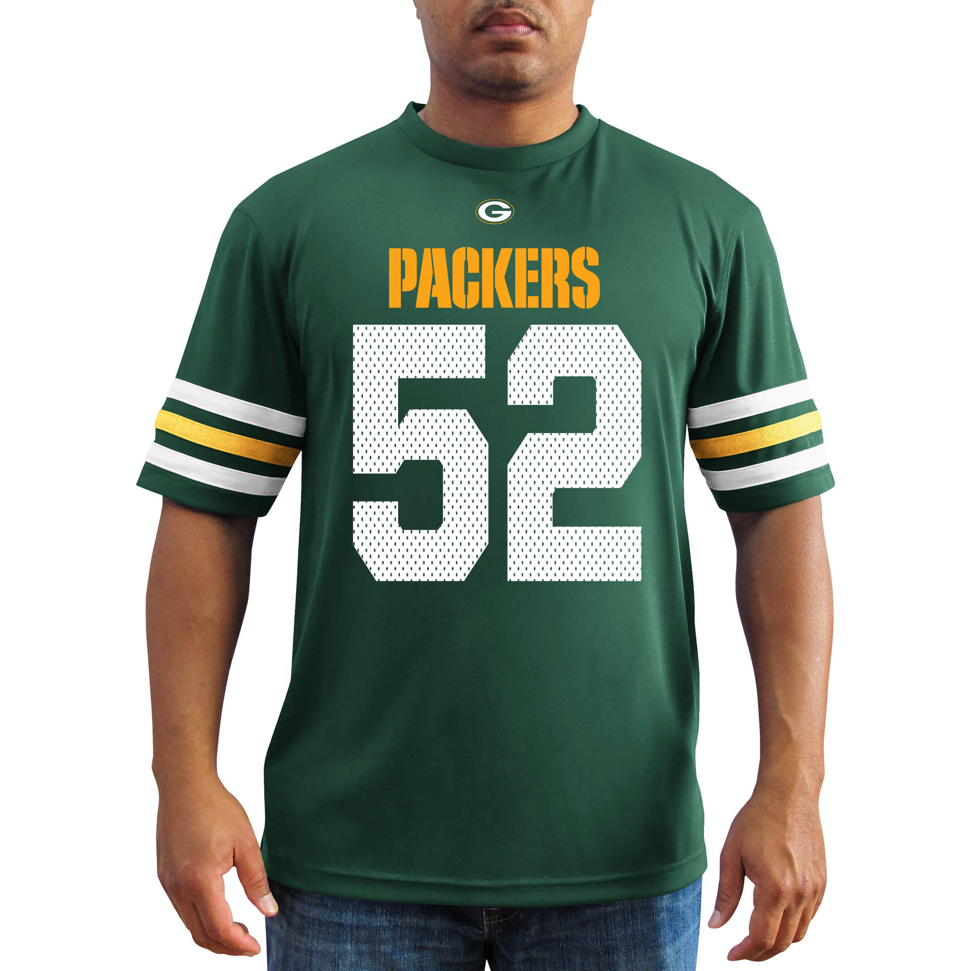 NFL Men's Green Bay Packers Matthews Synthetic Fashion Tee