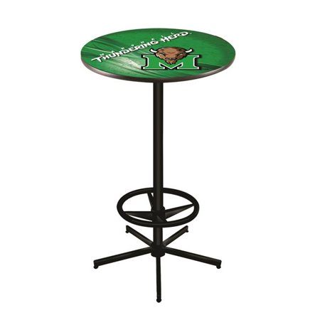 Holland Bar Stool L216B4236Mrshll 42 in. Marshall Thundering Herd Pub Table with 36 in. Top - image 1 of 1