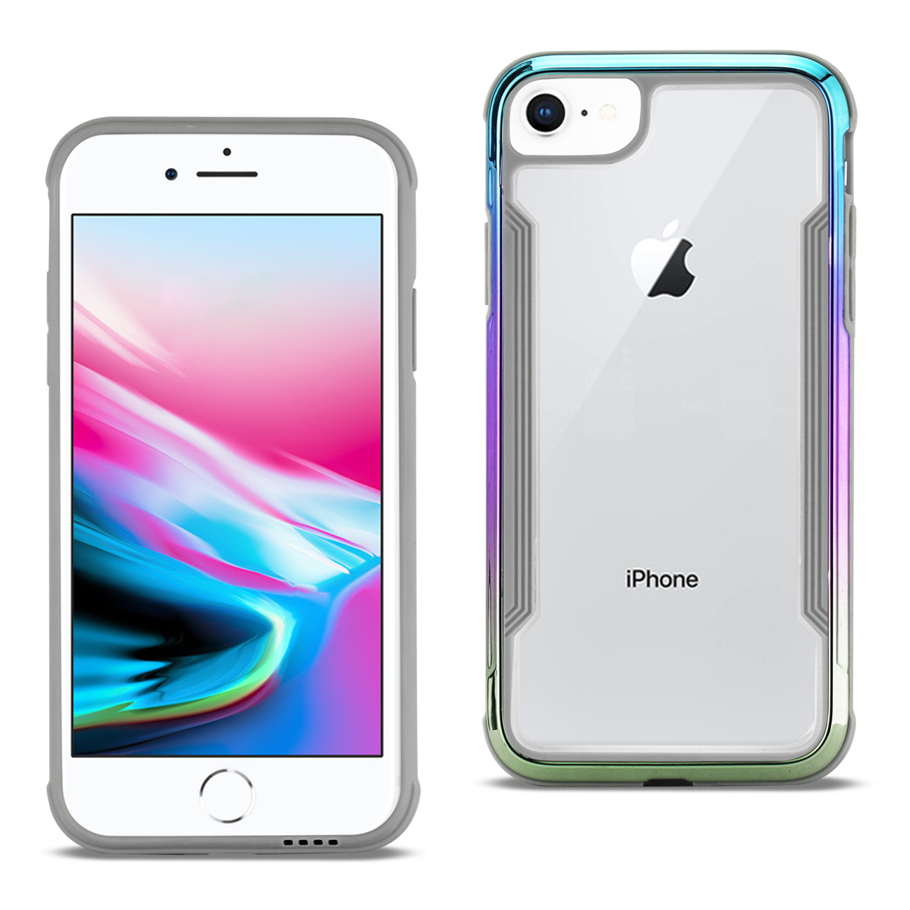 differently 7b004 7959d Apple Iphone 8 Defense Shield Case In Mix