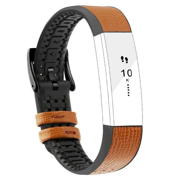 Fitbit Alta Bands Leather Alta Hr Bands Adjustable Replacement Sport Strap Band For Fitbit Alta Hr Accessory Walmart Com Walmart Com