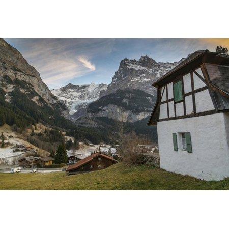 The Eiger, Grindelwald, Jungfrau region, Bernese Oberland, Swiss Alps, Switzerland, Europe Print Wall Art By Frank (Best Place To Stay In Jungfrau Region)