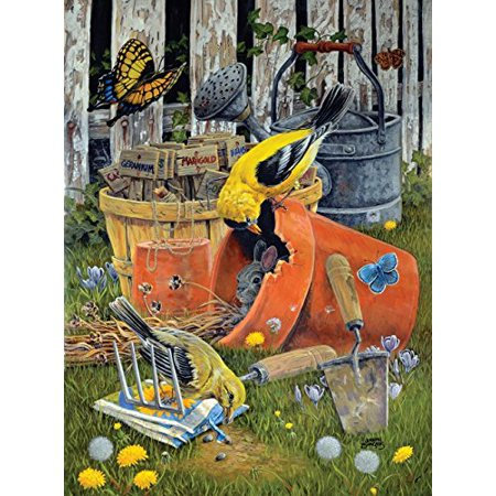 Planting Time 1000 Pc Jigsaw Puzzle - Gardening Theme - By Sunsout - image 2 of 2