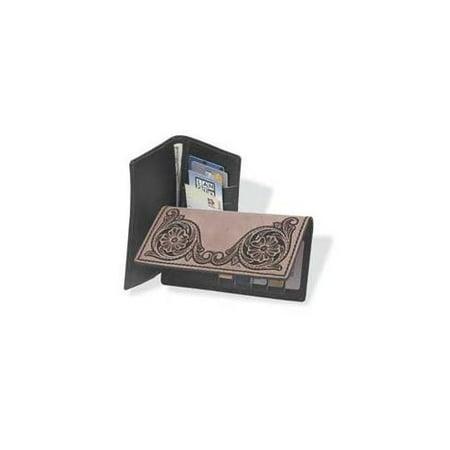 Wallet Craft Kit (Roper Wallet Kit Black Diy Make Your Own Leathercraft Tandy Leather 4044-01)