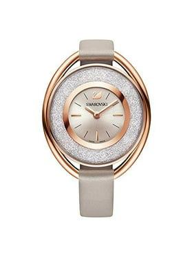 Swarovski Women's Ladies' Crystal Crystalline Oval Rose Gold Tone Watch 5158544