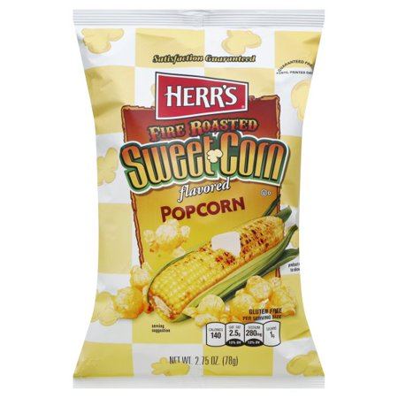 Herrs Fire Roasted Sweet Corn Flavored Popcorn