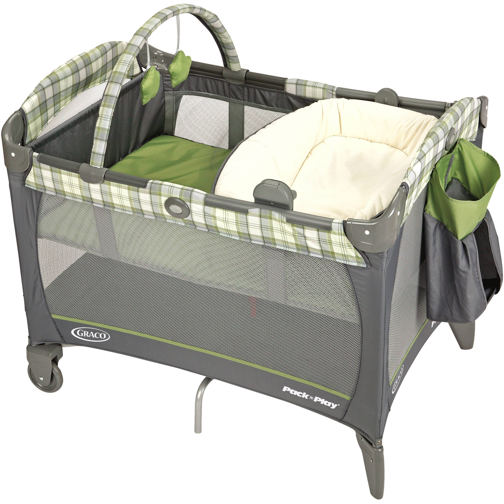 Graco Reversible Napper and Changer Pack 'n Play Playard, Roman