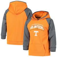 Youth Russell Athletic Tennessee Orange Tennessee Volunteers Colorblock Pullover Hoodie