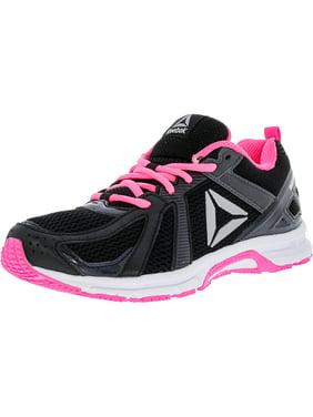 6f4d0ff65 Product Image Reebok Women's Runner Mt Coal / Black Pink White Silver Ankle- High Mesh Running Shoe