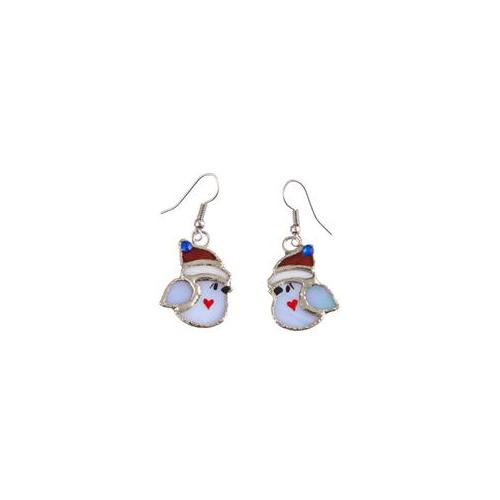 Switchables SWITCHJE248 Winter Bird Earrings