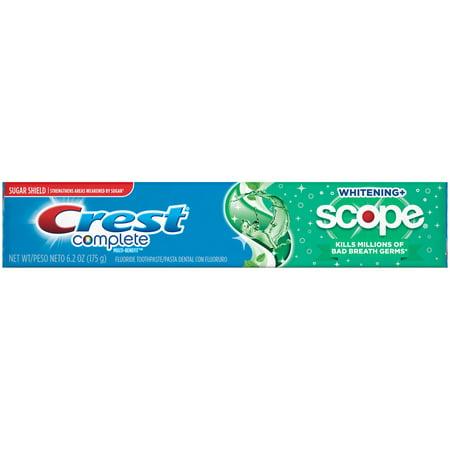 Crest Complete Multi-Benefit Whitening + Deep Clean ...