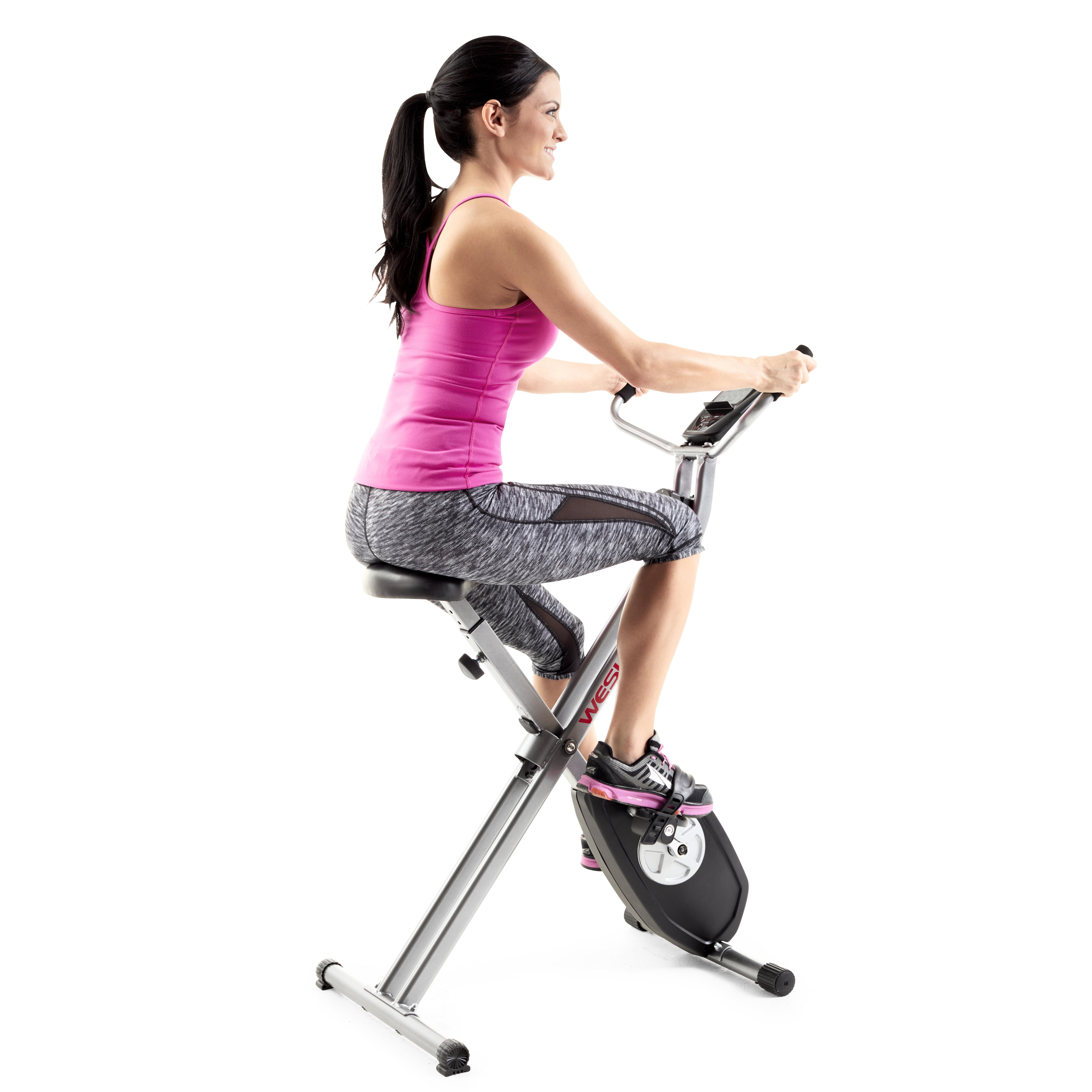 Weslo X Bike Upright Folding Exercise Bike