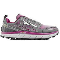 Altra Women's Lone Peak 3.0 Low Neo Trail Running Shoe, Gray/Purple, 8 B(M) US