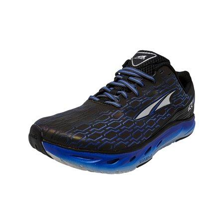 Alta Boots (Altra Men's Iq Black / Blue Ankle-High Running Shoe -)