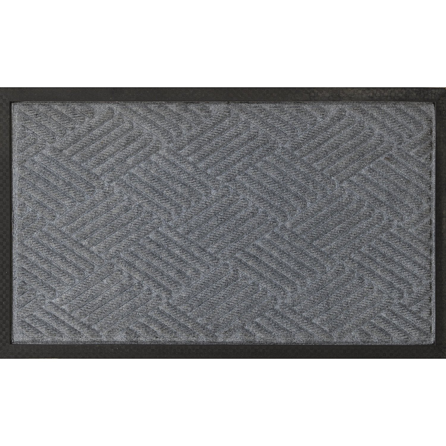 rubber floor mats. Ribbed Carpet Rubber Backed Entrance Scraper Door Mat (24\ Floor Mats