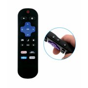 New Replace TV Remote Fit for Sharp Roku Ready TV LC-50LB371C LC-50LB481U LC-50LB371C LC-50LB371U