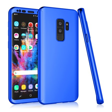 cheaper da042 87aef Tekcoo For Samsung Galaxy Note 9 / S9 / S9 Plus Case, Tekcoo [Blue] Ultra  Thin Full Body Coverage Protection Scratch Proof Hard Slim Hybrid Cover ...