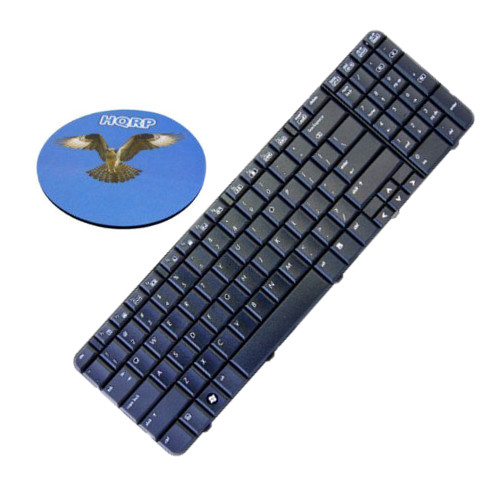 HQRP Laptop Keyboard compatible with HP G60T-200 / G60T-200 CTO / G60T-500 CTO / G60T-600 CTO Notebook Replacement plus HQRP Coaster