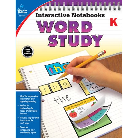 Interactive Notebooks Word Study, Grade - Words Interactive Whiteboard
