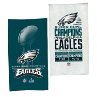"""Philadelphia Eagles WinCraft Super Bowl LII Champions Trophy Collection Locker Room Official 22"""" x 42"""" On-Field - No Size"""