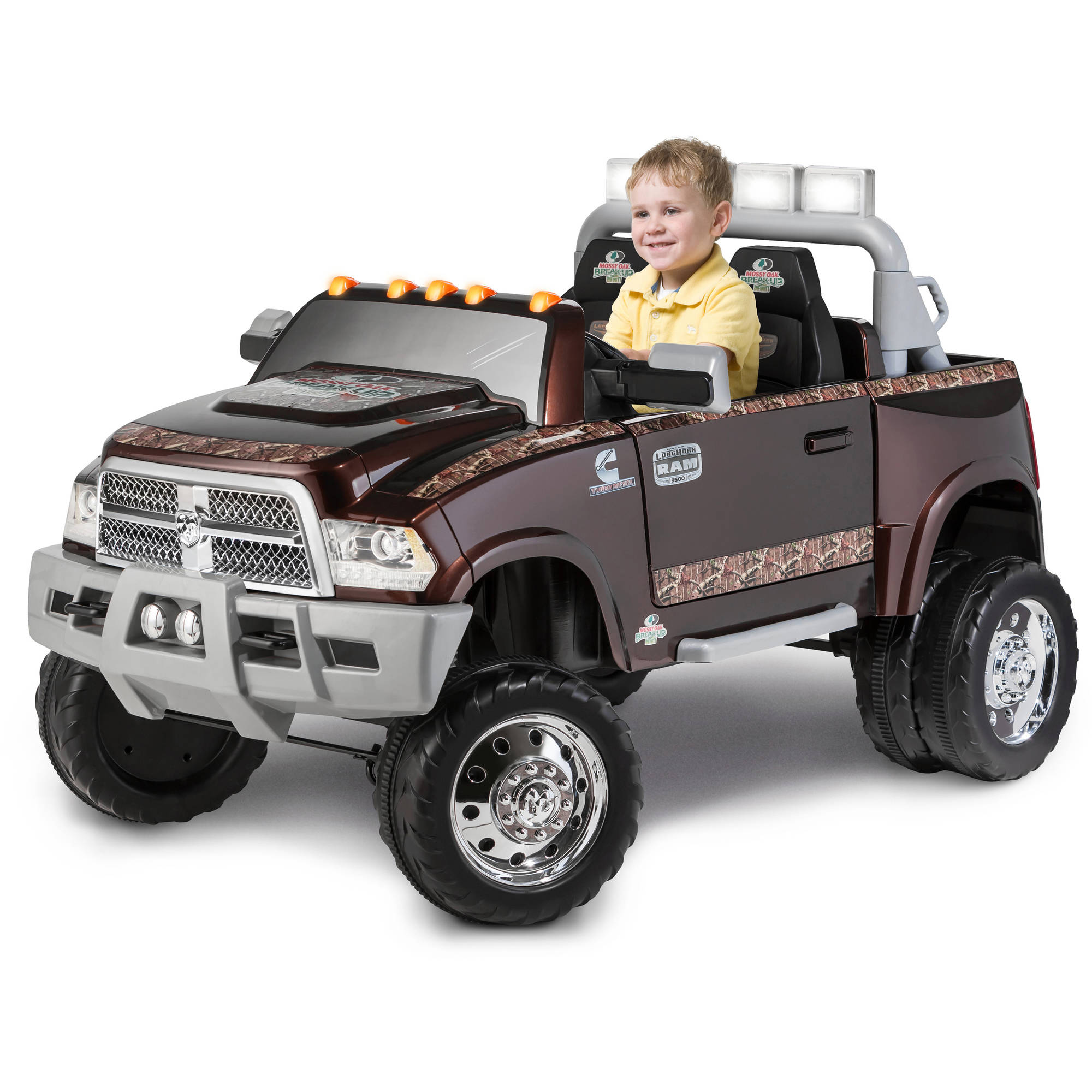 Kid Trax Ram 3500 Dually Longhorn Edition 12 Volt Battery Powered
