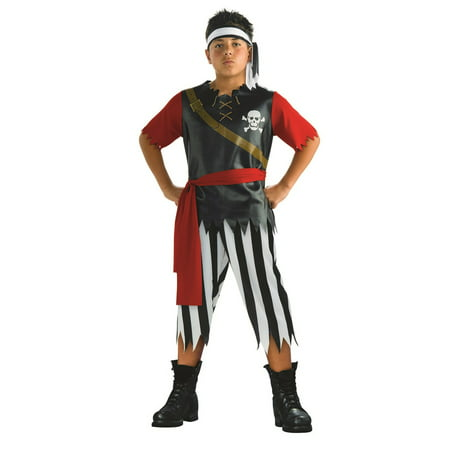 Pirate King Halloween Costume - Pirate Halloween Makeup For Boys