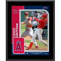 """Shohei Ohtani Los Angeles Angels 10.5"""" x 13"""" Sublimated Player Plaque - Fanatics Authentic Certified"""