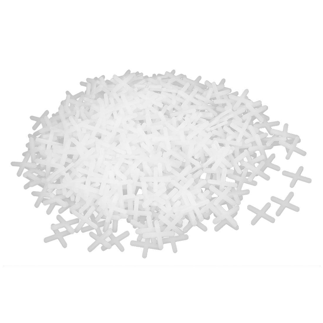 Wall Floor Ceramic Tile Plastic Cross Spacer 3mm White 1000pcs