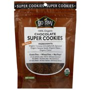 Go Raw 100% Organic Chocolate Super Cookies, 3 oz, (Pack of 12)