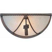 Volume Lighting V7609 Wall Sconce with 1 Light and Scavo Glass