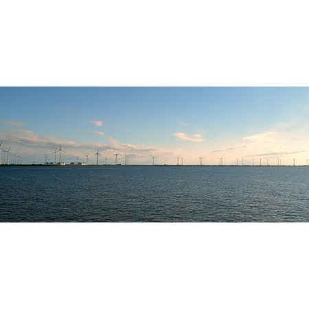 Framed Art For Your Wall Windräder Wind Energy Offshore Wind Power Wind Park 10x13 Frame