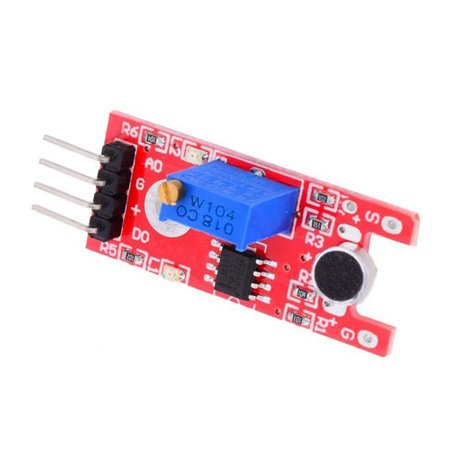 1/5/10x Sound Sensor Microphone Voice Sensitivity Module Signal For Arduino  | Walmart Canada
