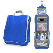 Lavievert Blue Toiletry Bag Portable Travel Makeup Organizer