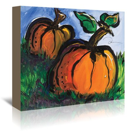 Minion Pumpkin Painting (August Grove Pumpkins Painting Print on Wrapped)