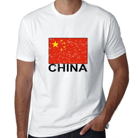 China Flag - Special Vintage Edition Men's T-Shirt
