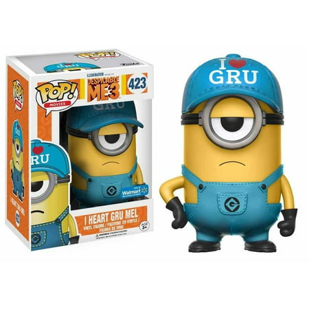 Funko POP Movies: Despicable Me 3 - I Heart Gru Minion Walmart Exclusive](Felonious Gru)