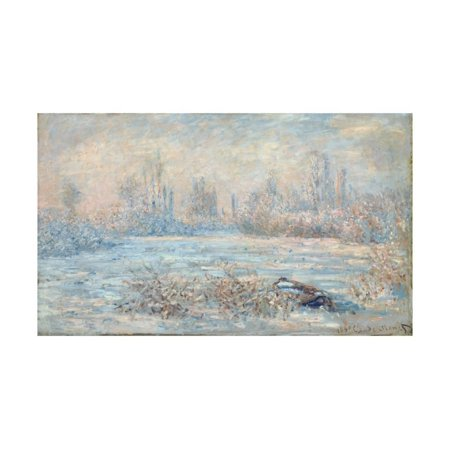 Frost, 1880 Print Wall Art By Claude Monet - Frosted Art