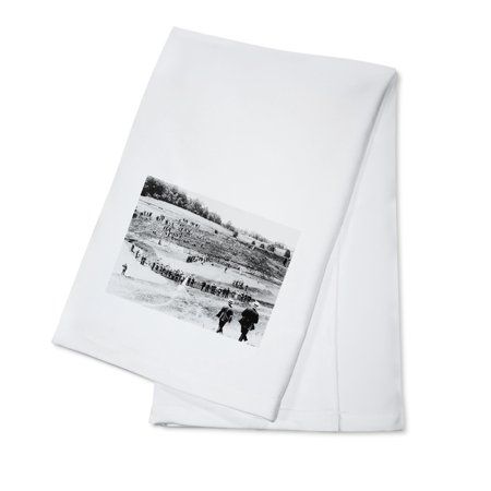 Linen Cotton Club - Golf Tournament at Columbia Country Club Photograph (100% Cotton Kitchen Towel)