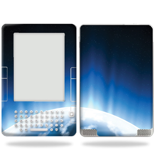Mightyskins Protective Vinyl Skin Decal Cover for Amazon Kindle 2 (2nd gen) ebook reader (Not Latest Generation) wrap sticker skins - Space Flight