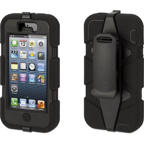 Griffin Survivor Case for iPhone 5, Black