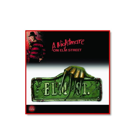 A Nightmare on Elm Street 2-Piece Halloween Sign Accessory Set](Halloween Rip Signs)