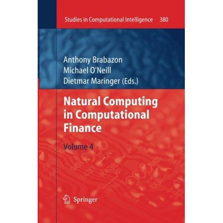Natural Computing In Computational Finance  Volume 4