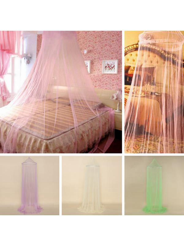 648a0d171ff Check Inventory. Dome Lace Mosquito Net Fly Indoor Insect Protection Bed  Canopy Mesh Curtain New